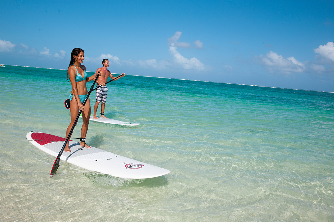 8 good reasons to try out the stand-up paddle in Mauritius