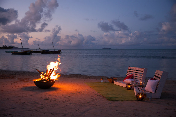 Top 5 ideas for a romantic moment in Mauritius
