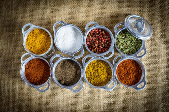 Top 10 spices used in mauritian cuisine