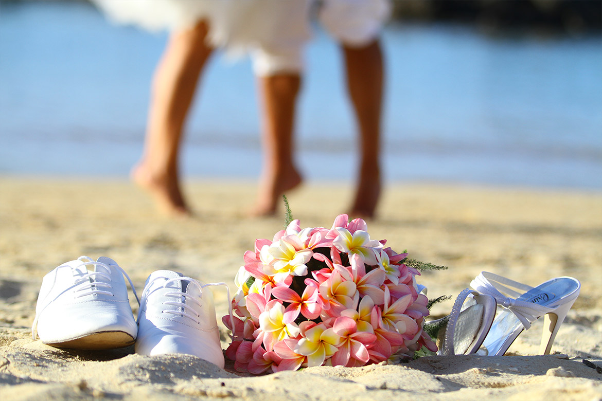 Stress-free wedding in Mauritius