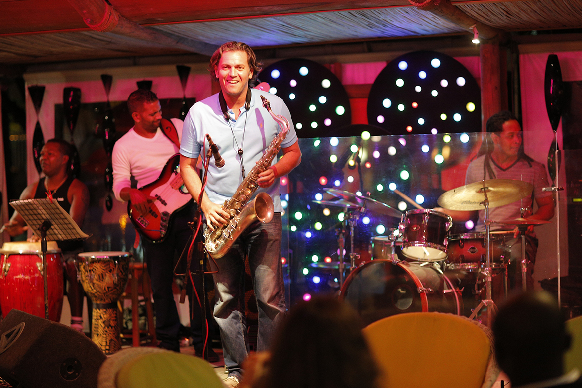 Jazz nights at Tamarin Hotel