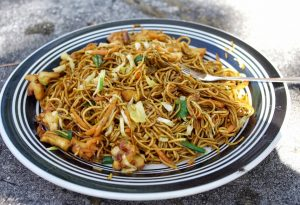 Mauritian fried noodles