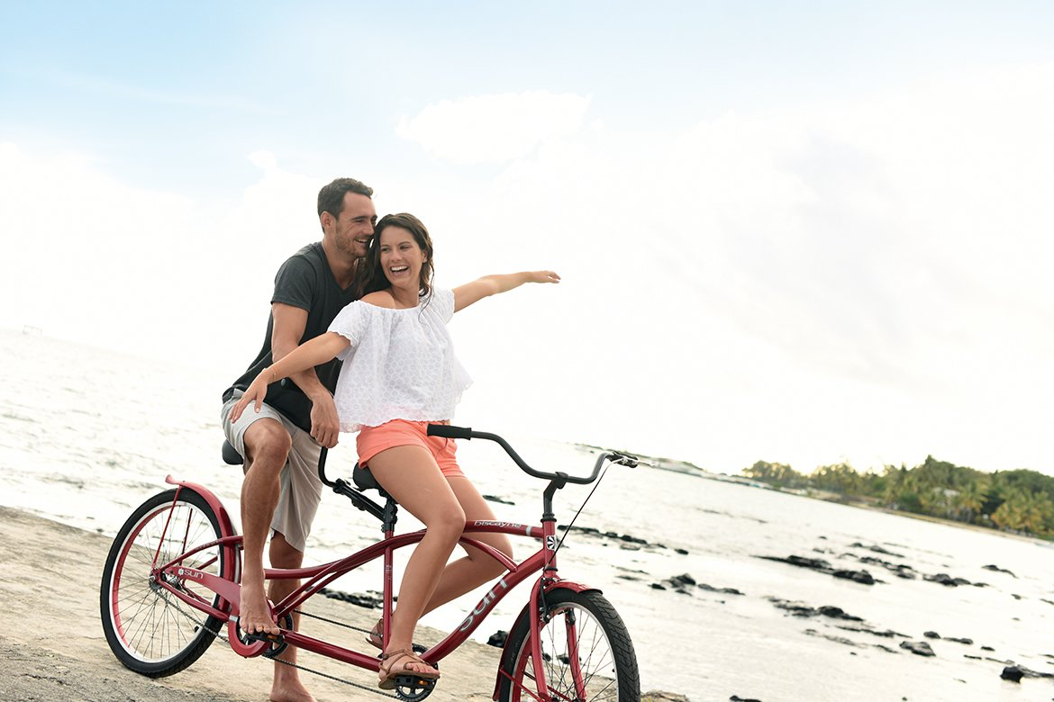 Discover the region on tandem bike ride