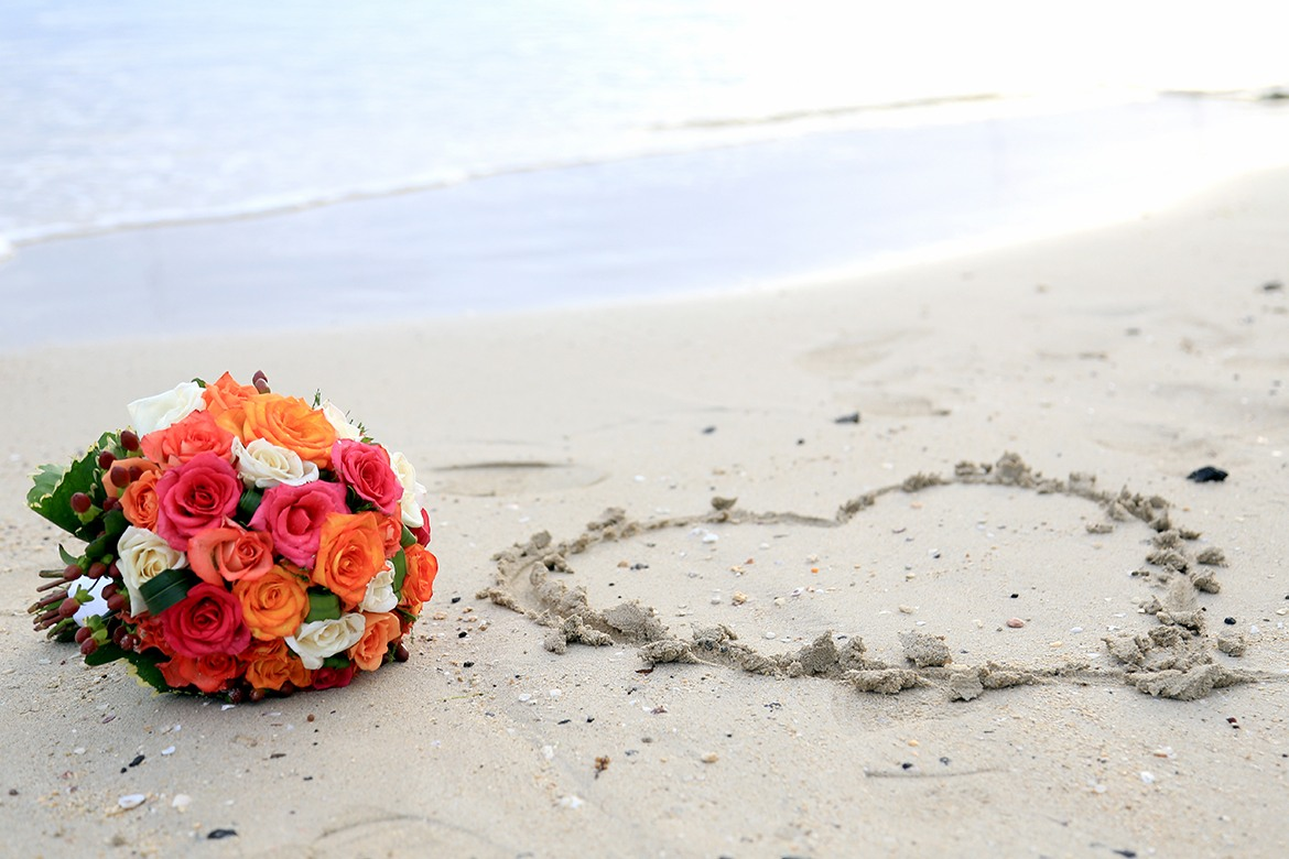 Simply classic packages for wedding in Mauritius