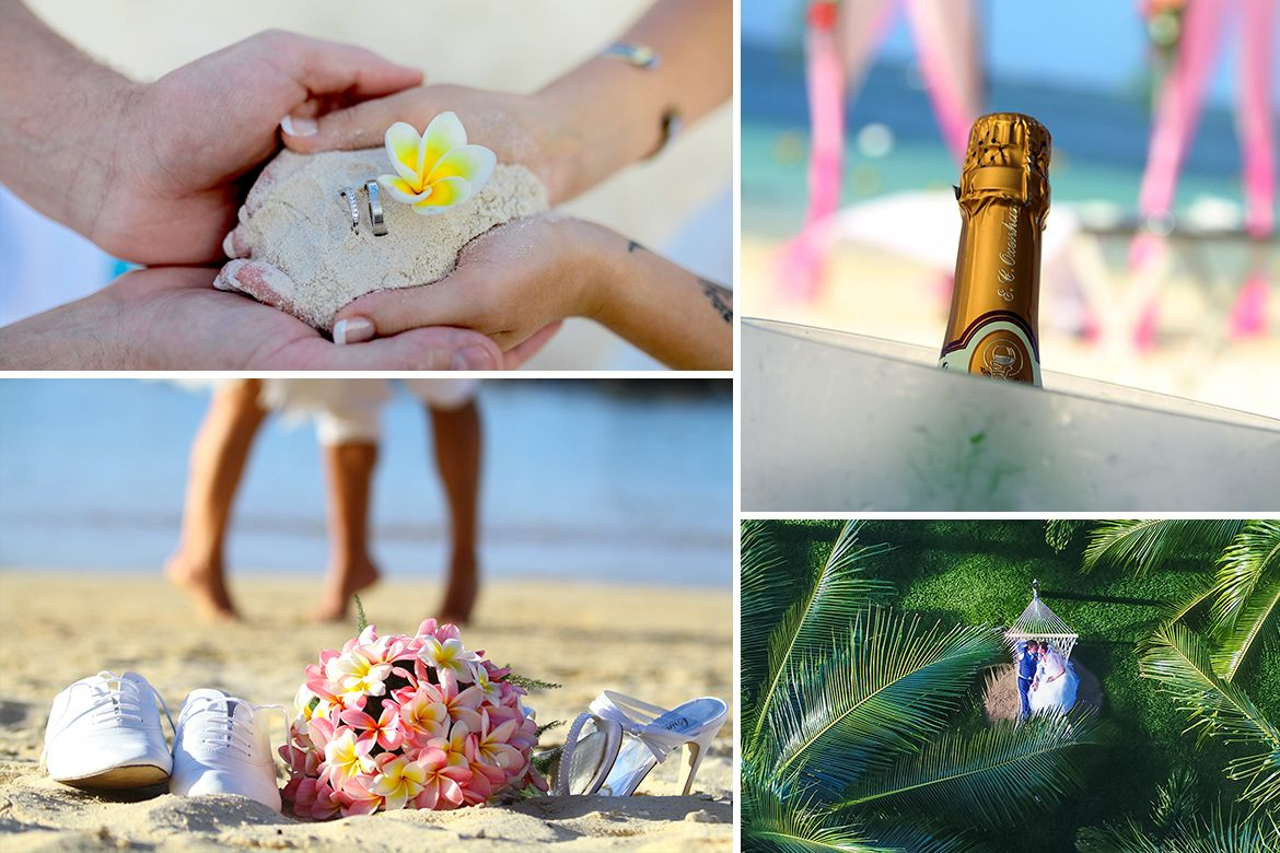 Wedding honeymoons and renewal of vows in Mauritius