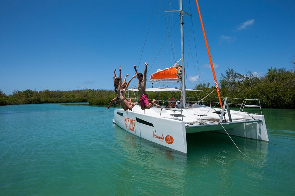 Catamaran trip in Mauritius by Veranda Resorts