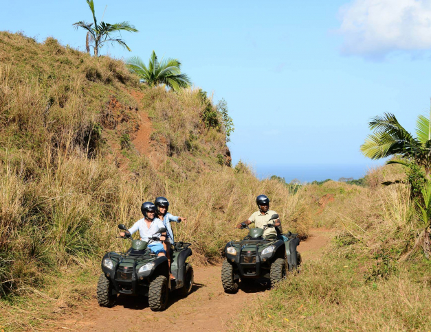 quad biking reserves naturelles de lile maurice